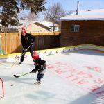 Syncrude employee receives national recognition for backyard rink