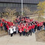 Syncrude Employees Outside United Way Campaign