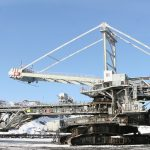 Syncrude's bucketwheel reclaimers were first-generation oil sands equipment